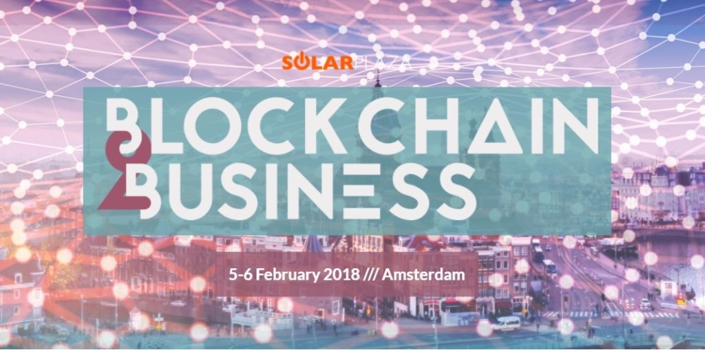 Blockchain2Business Conference, Amsterdam